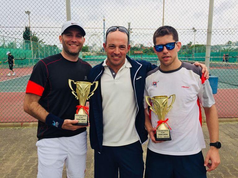 תחרות טניס זוגות אפריל 2018
